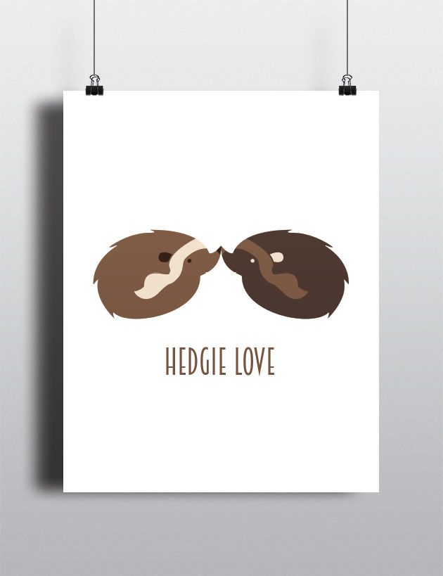 hedgie poster