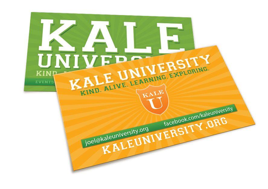Business Cards - Kale University