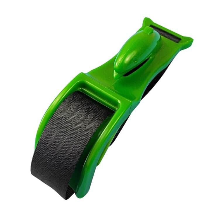 green pregnant car seat belt adjuster
