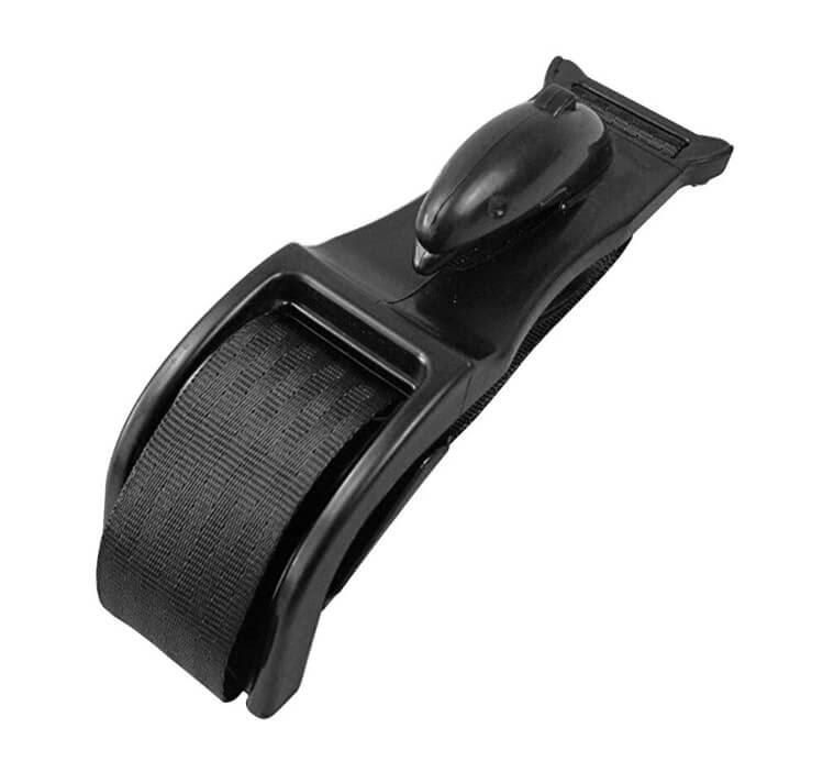 black pregnant car seat belt adjuster