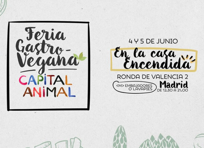 Feria Gastro-Vegana Capital Animal