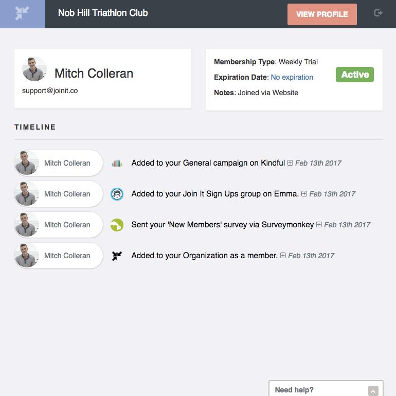 Sync surveymonkey to Membership Database | Join It