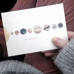Anna Cosma Letterpress Postcards