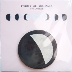 Anna Cosma Phases of the Moon Art Prints