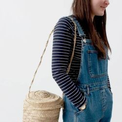 Bohemia Design Basket Bucket Bag