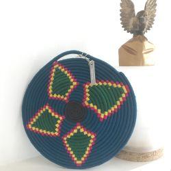 Bohemia Design Vintage Wool Moroccan Trivet Wall Hanging