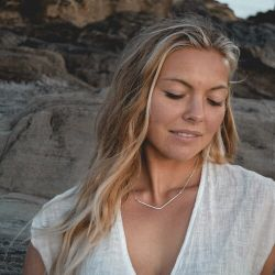Catch The Sunrise Valley Sterling Silver Necklace