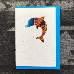 Fairtrade South American Dolphin Card