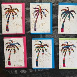 Fairtrade South American Palm Tree Card