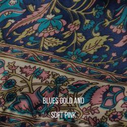 Fairtrade Silk long sleeve Wrap  Top