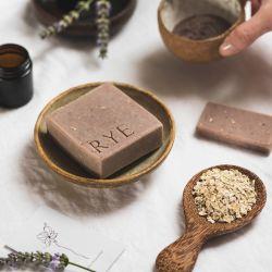 Handmade Vegan Soap Block - Lavender Oatmeal