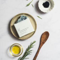 Handmade Vegan Soap Block - Lemongrass Monsoon