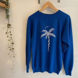Jolly Brown Own Palm Back Crew Blue Sz M
