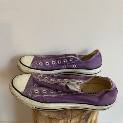 Jolly Brown Converse Purple Size 6.5