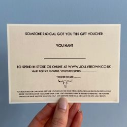 Jolly Brown Gift Voucher