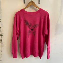 Jolly Brown Own Pink Shell Back Crew Sz XL