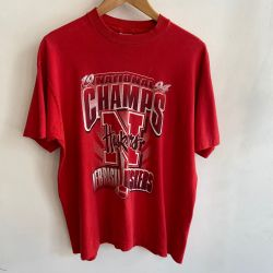 Jolly Brown Vintage 1990s Alaska Champs Tee Sz L