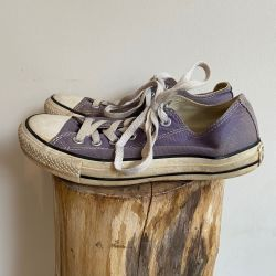 Jolly Brown Vintage Converse Lilac Size 5