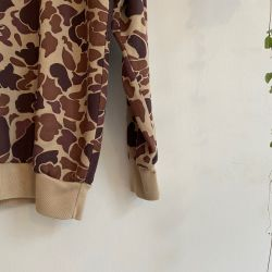 Jolly Brown Vintage Duck Bay Camo Crew Sz L