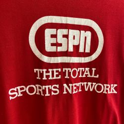 Jolly Brown Vintage ESPN Sports Network Tee Sz XL