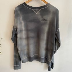 Jolly Brown Vintage Grey Indiana Tie Dye Crew Sz XL
