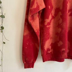 Jolly Brown Vintage Lee Jeans Tie Dye Crew Sz M