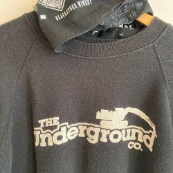 Jolly Brown Vintage Underground Crew Sz S