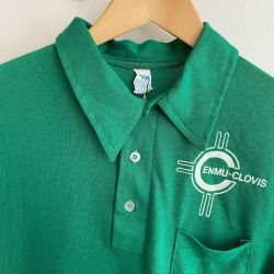 Jolly Brown Vintage US Polo Style Uni Tee Sz M
