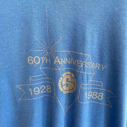 Jolly Brown Vintage US Superfine 60th Anni. Tee Sz L