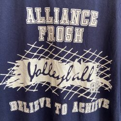 Jolly Brown Vintage US Volleyball Tee Sz M
