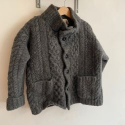 Jolly Little Folk Charcoal Highland Knit Age 4-5
