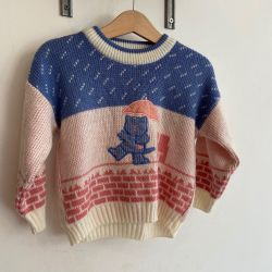 Jolly Little Folk Cute Cat Jumper 18-24 months