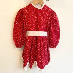 Jolly Little Folk Floral Print Dress Age 3-4