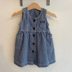 Jolly Little Folk OshKosh Denim Dress 6 months
