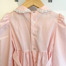 Jolly Little Folk Pink Smock Dress Age 6