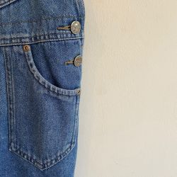 Jolly Little Folk Short Denim Dungarees Age 8-10