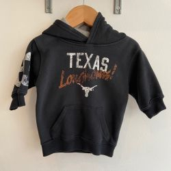 Jolly Little Folk Texas Longhorn Hoodie 3-6 months
