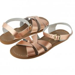 Kids Salt water Original Sandals in Rose Gold