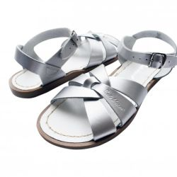 Kids Salt water Original Sandals in Silver