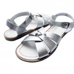 Kids Salt water Original Sandals in Silver