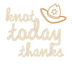 Knot Today Thanks Yellow Macrame Jar Lantern
