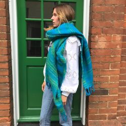 Recycled Super Soft Maxi Blanket Scarf