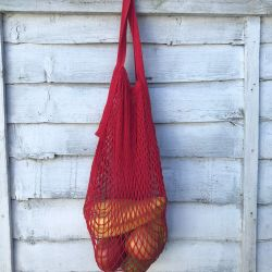 Organic Cotton French Market Bag