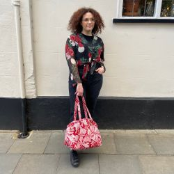 Rose Moon Cayenne Day Bag