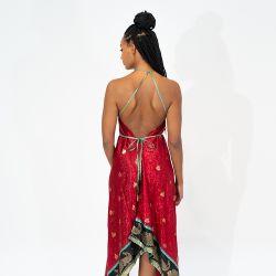 SAILAWAY Dress CO. Goddess Dress 'Bodhi Cranberry'