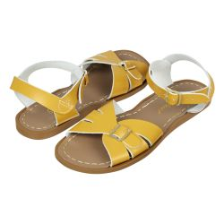 Salt Water Classic Sandals in Mustard