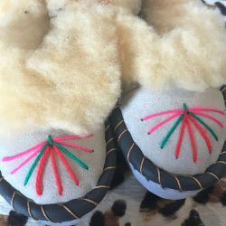 Sheepers Little Folk Childrens Slippers 11-12