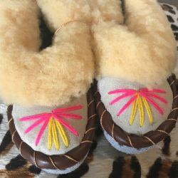 Sheepers Little Folk Toddler Slippers 5-6