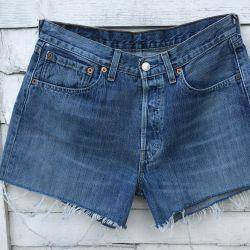 Vintage Levi 501 Cut Off Shorts Waist 30