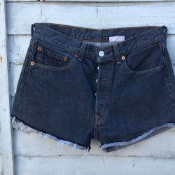 Vintage Levi 501 Cut Off Shorts Waist 31